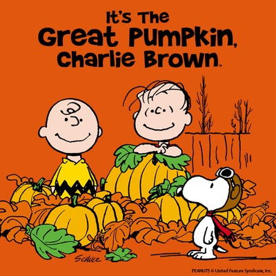 Great Pumpkin Charlie Brown cover