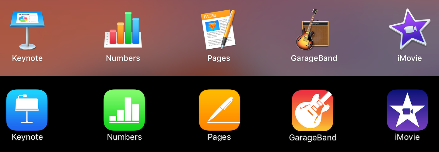 Changes to iWork and iLife Apps on iOS and macOS – Wayne's Workshop
