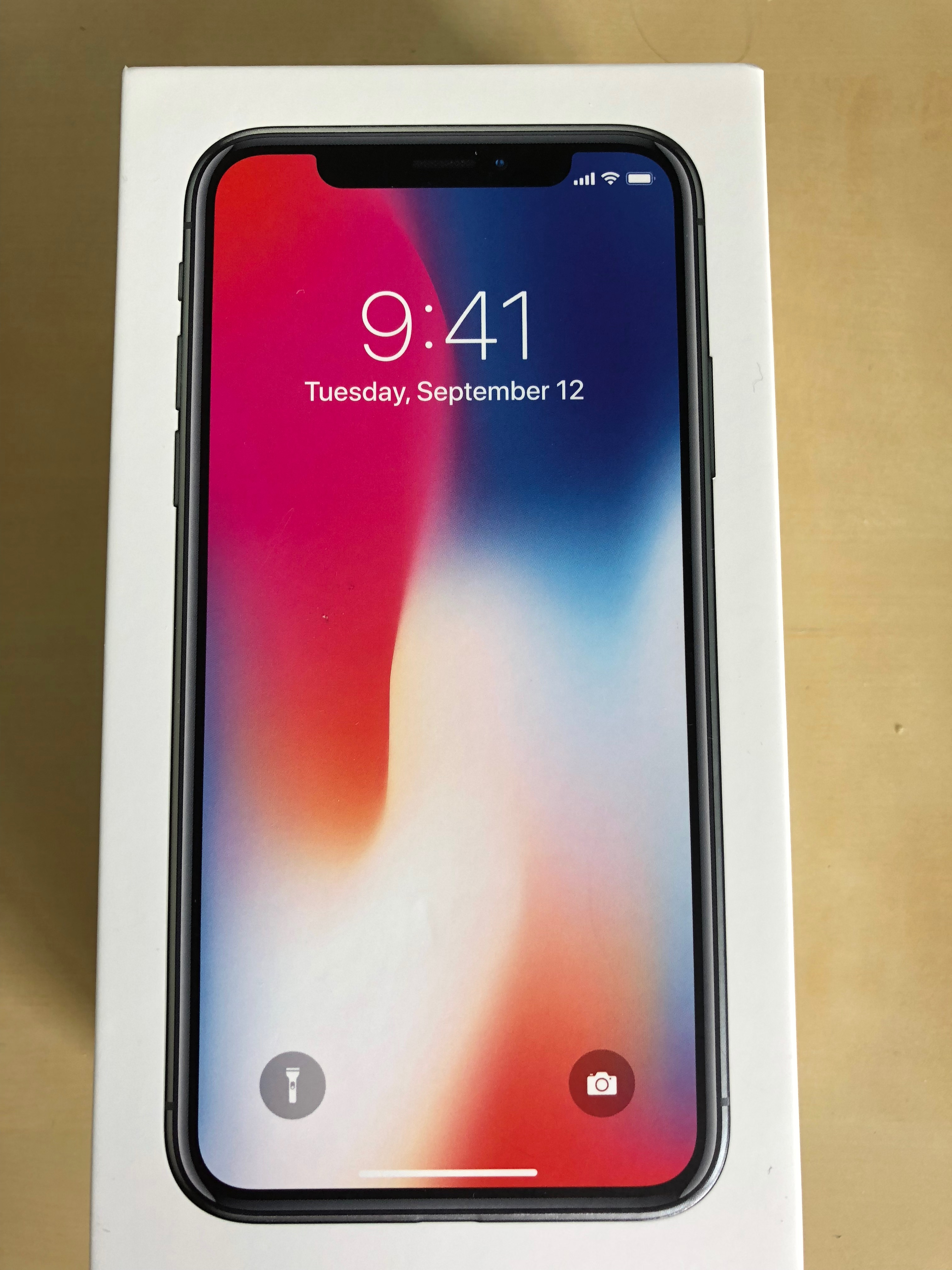 Iphone x review screen wayne 39 s workshop for Mac due the box