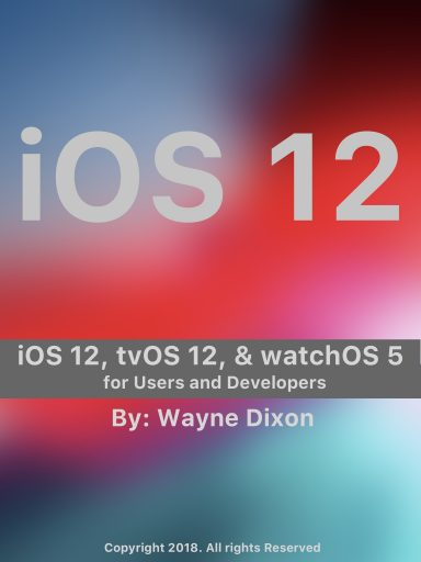 iOS 12 Book Cover