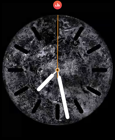 Water Circular Watch Face
