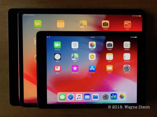 iPad Pro size comparisons, iPad Air 2, iPad Pro 3rd Gen, iPad Pro 2nd Gen
