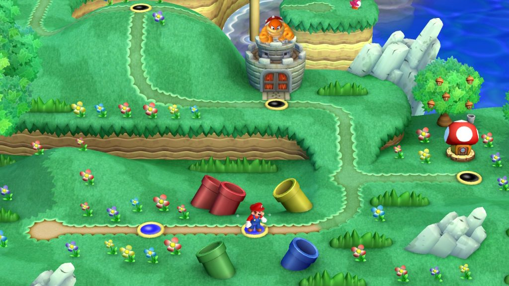 New Super Mario Bros. U Deluxe Levels