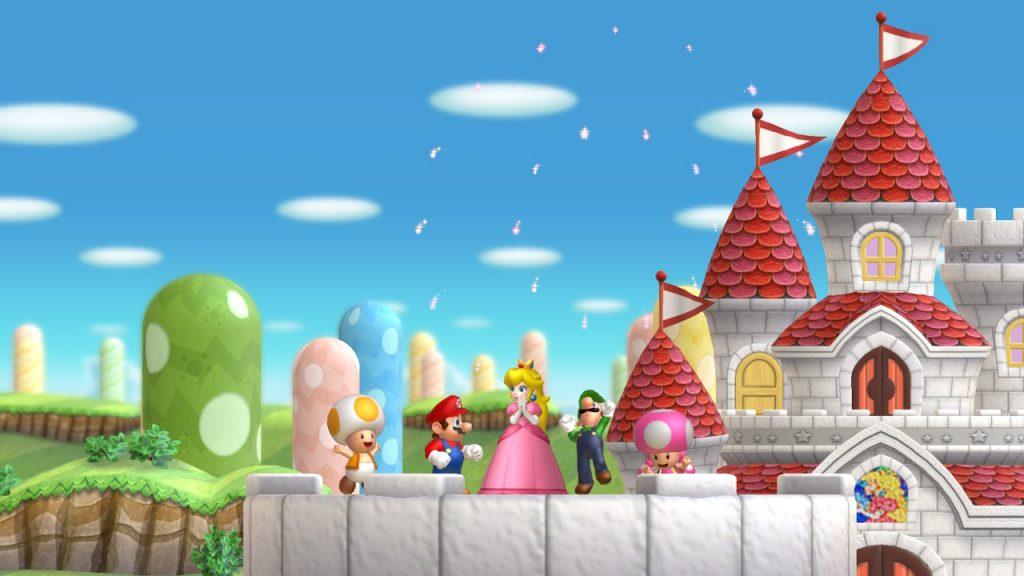 Super Mario Bros. U Deluxe Characters