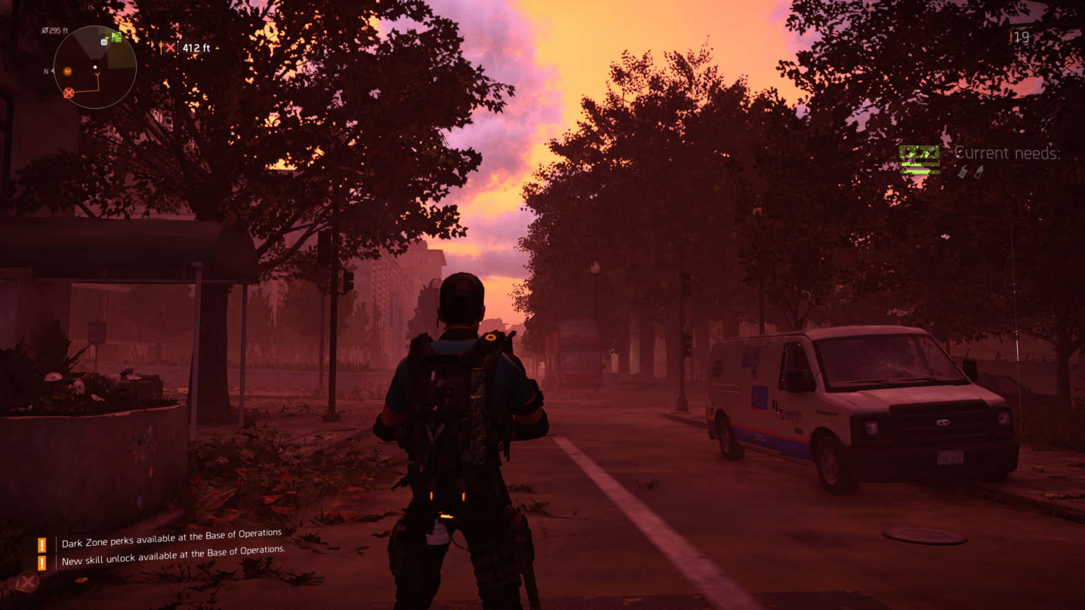 A screenshot of The Division 2