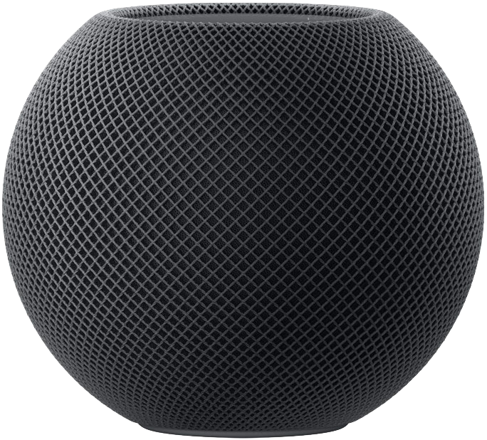 Space Gray HomePod Mini (2020)