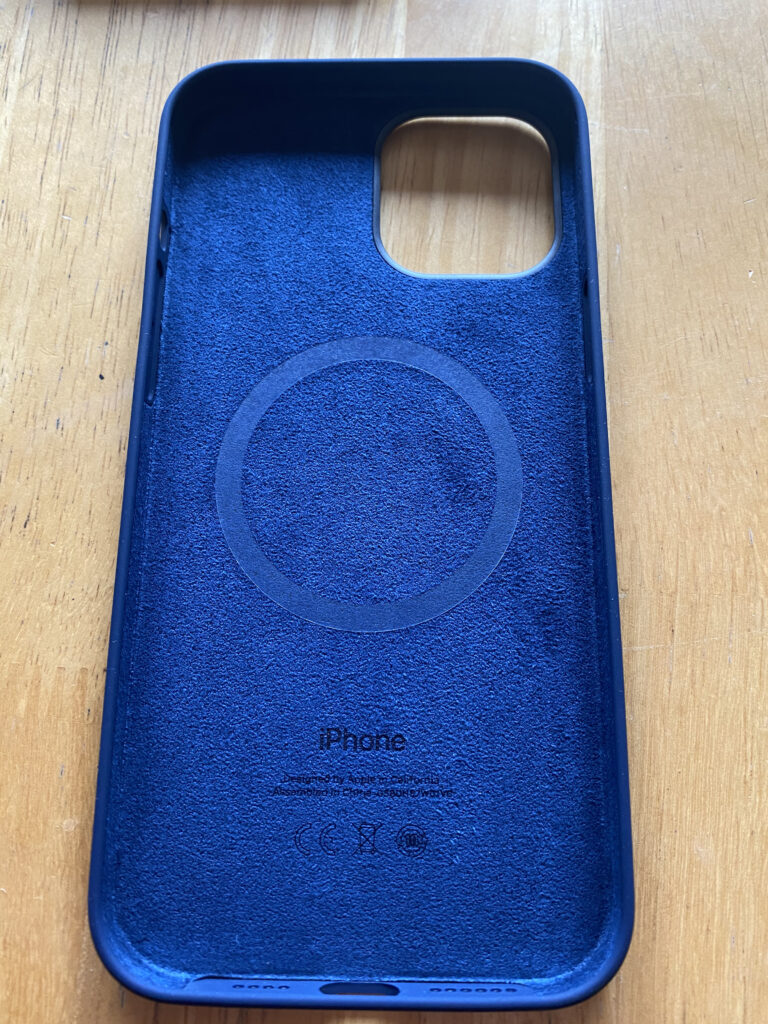 Apple iPhone 12 Pro Max Silicone Case in Deep Navy