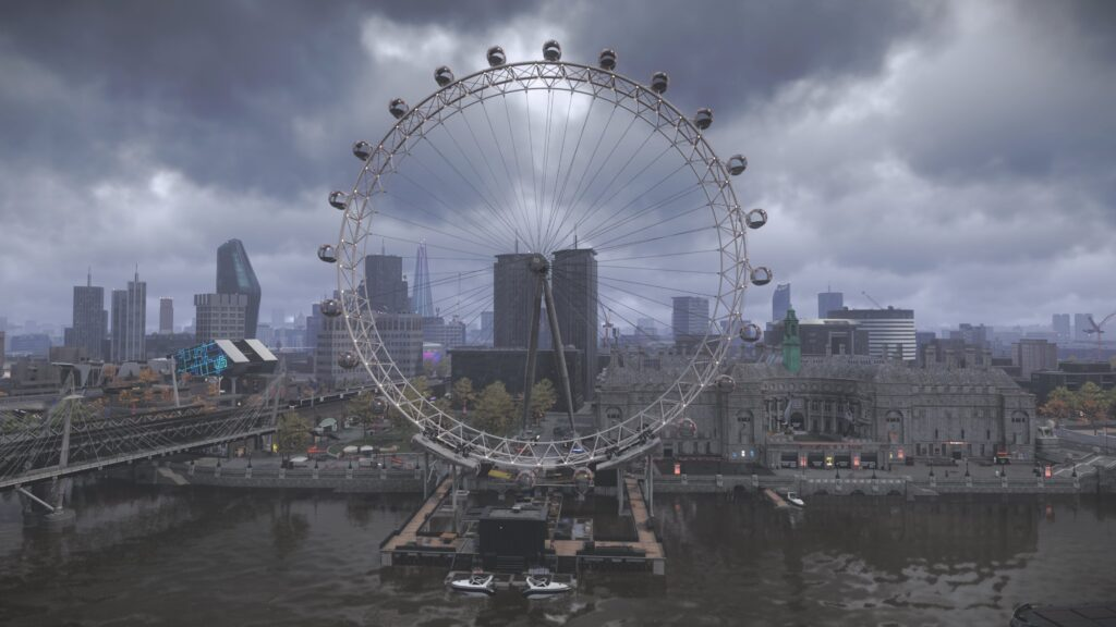The Millennium Wheel in Watch Dogs: Legion