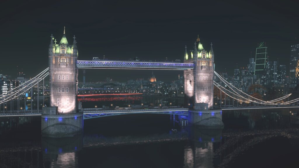 The Tower Bridge in Watch Dogs: Legion