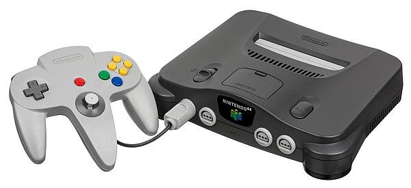 Nintendo 64 Console.