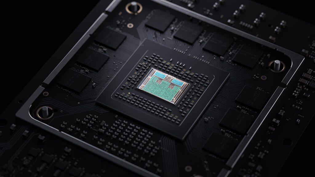 Internal Chip on the Xbox Series X