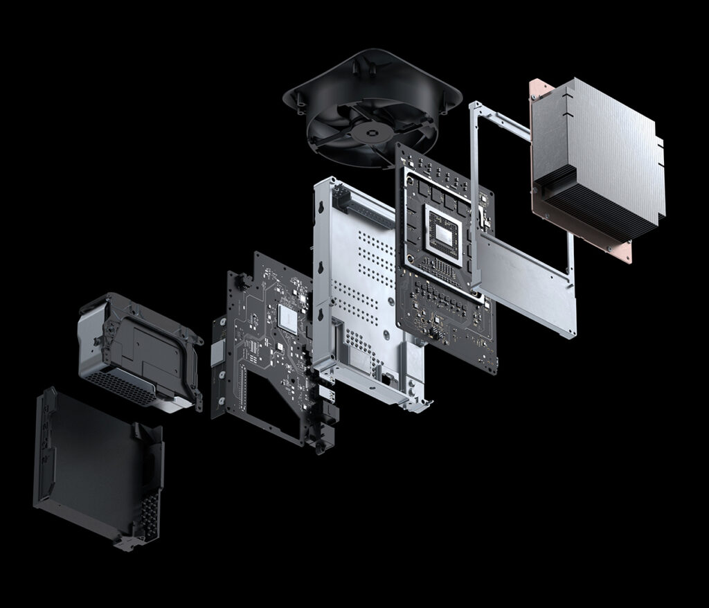 Internals of the Xbox Series X