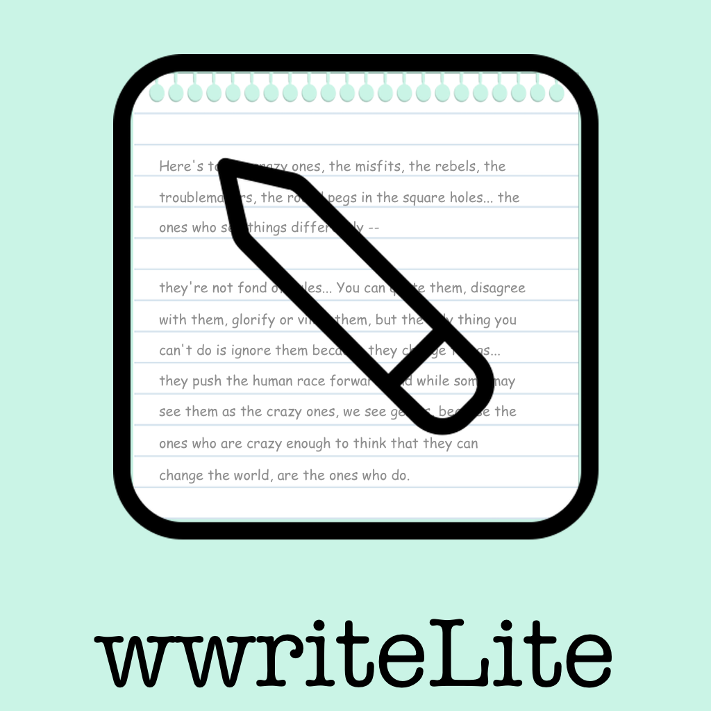 wwriteLite app icon