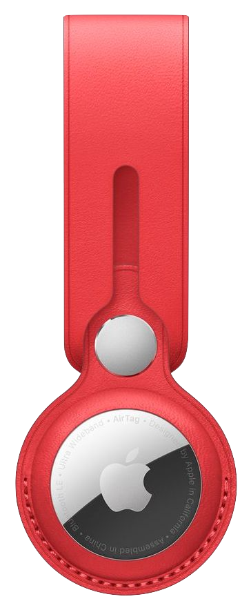 AirTag Loop in Product Red color