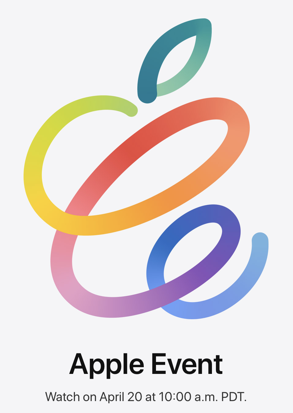 "Apple ""Spring Loaded"" event image."