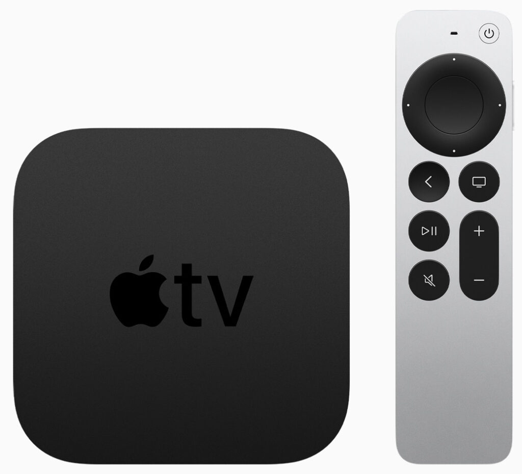 Apple TV 4K (2021) and new Siri Remote