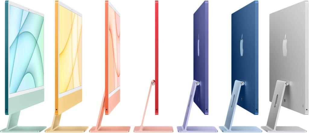 24-inch iMac Colors (2021)