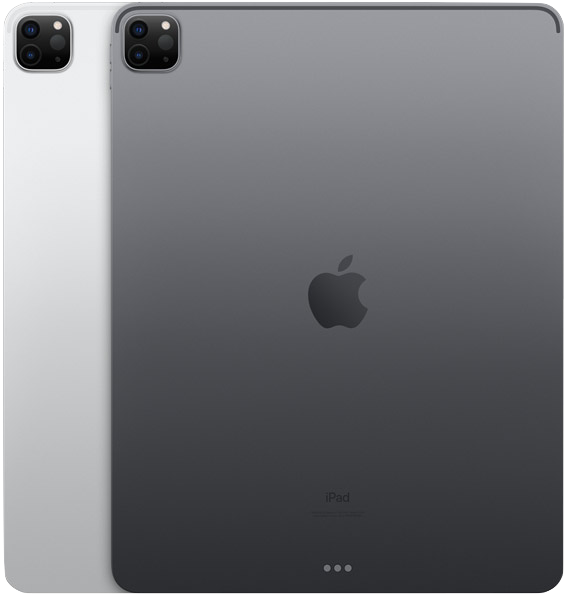 iPad Pro 12.9-inch 5th Generation Silver and Black (2021)