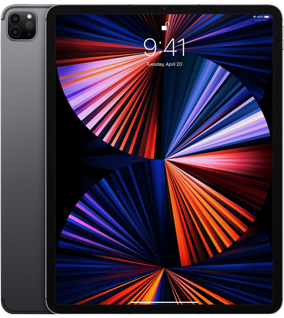 iPad Pro 12.9-inch 5th Generation Wi-Fi + Cellular Space Gray (2021)
