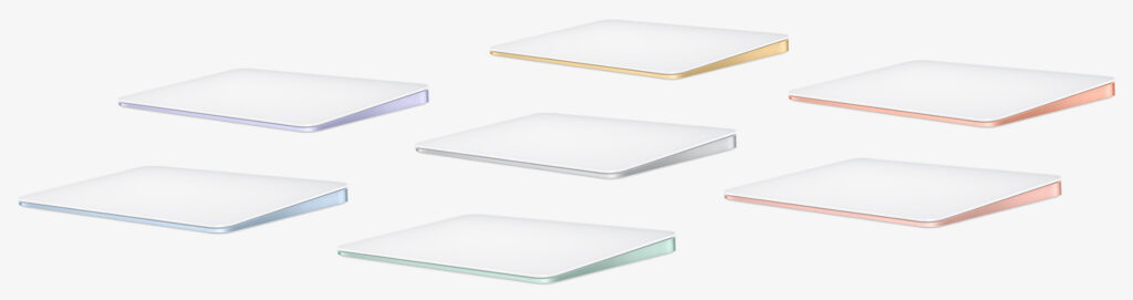 Magic Trackpad colors