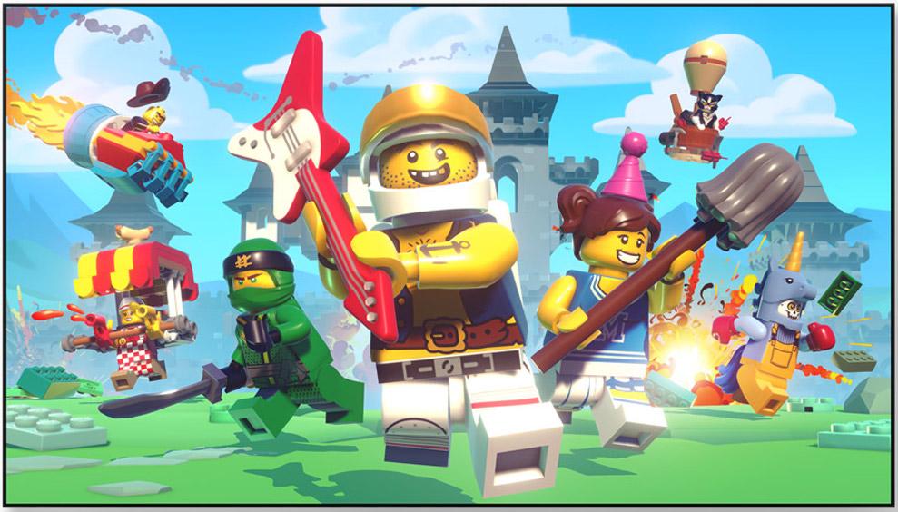Lego Battles on Apple TV