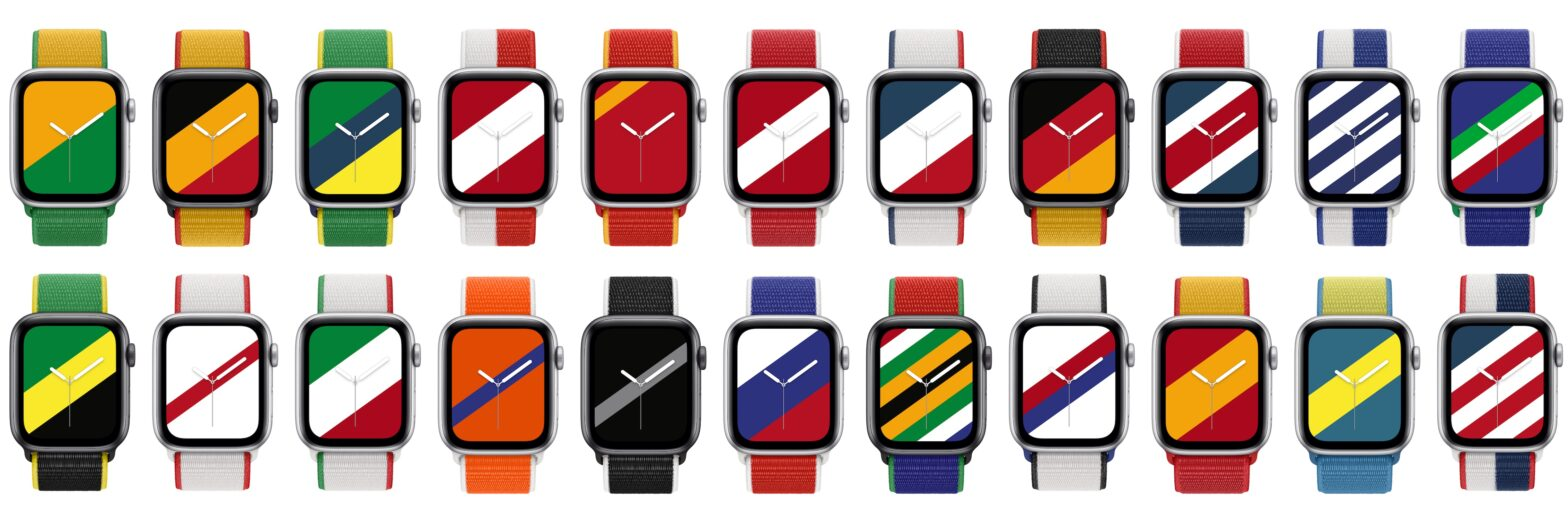 Apple Watch Bands International Collection 2021