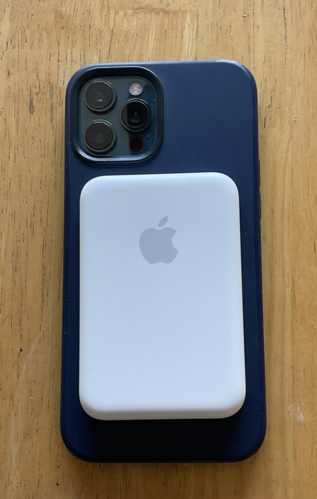 MagSafe Battery Pack on iPhone 12 Pro Max