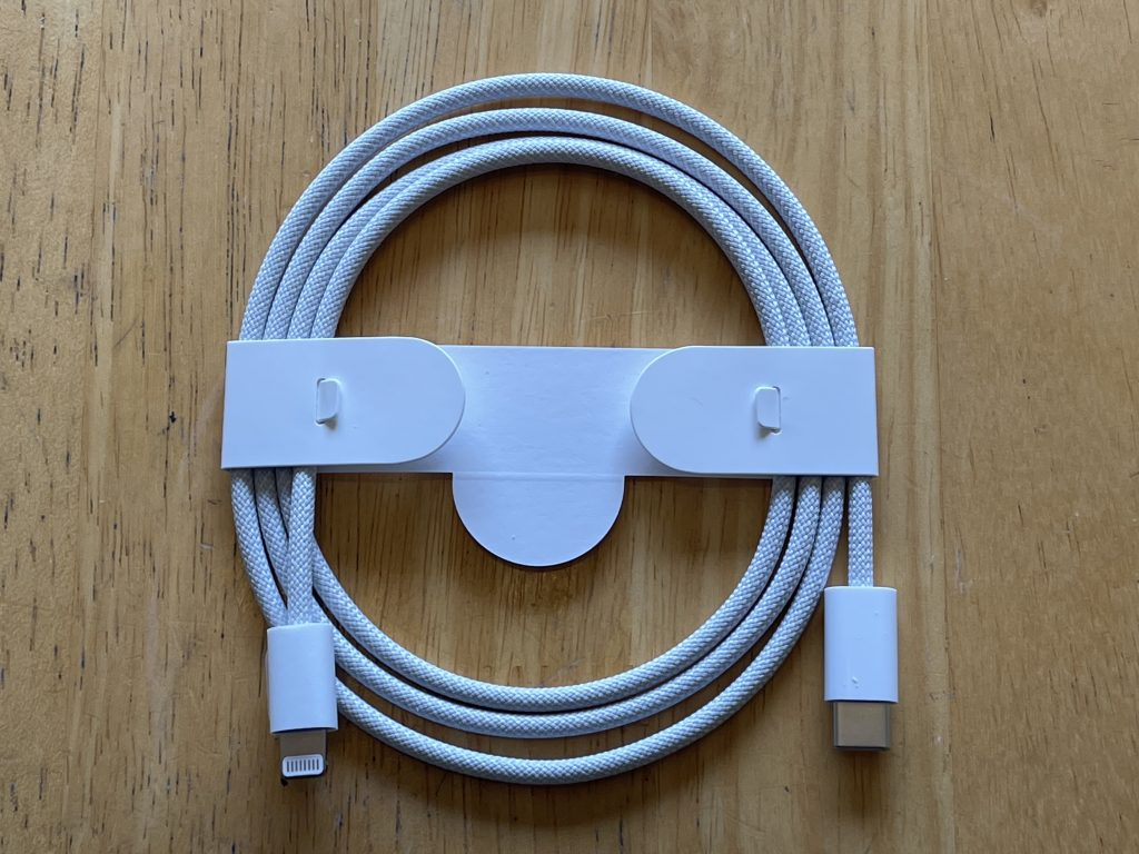 USB-C to Lightning Braided Cable