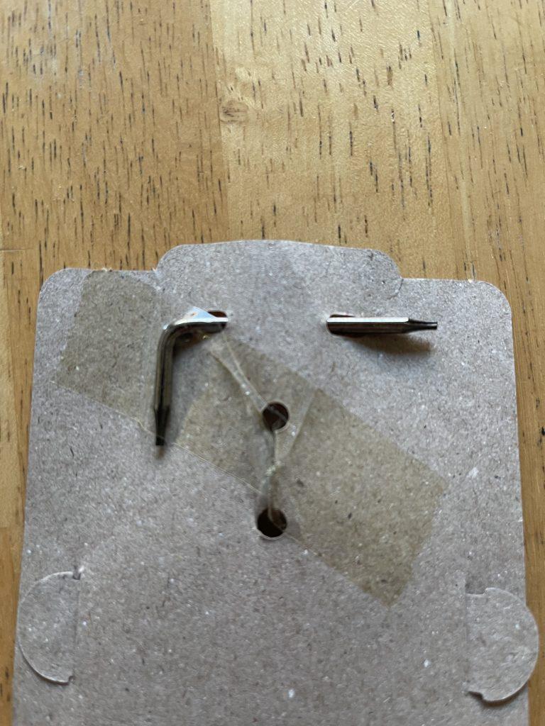 TagVault Keychain included tool