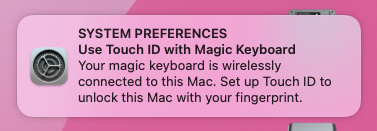 Touch ID Prompt setup