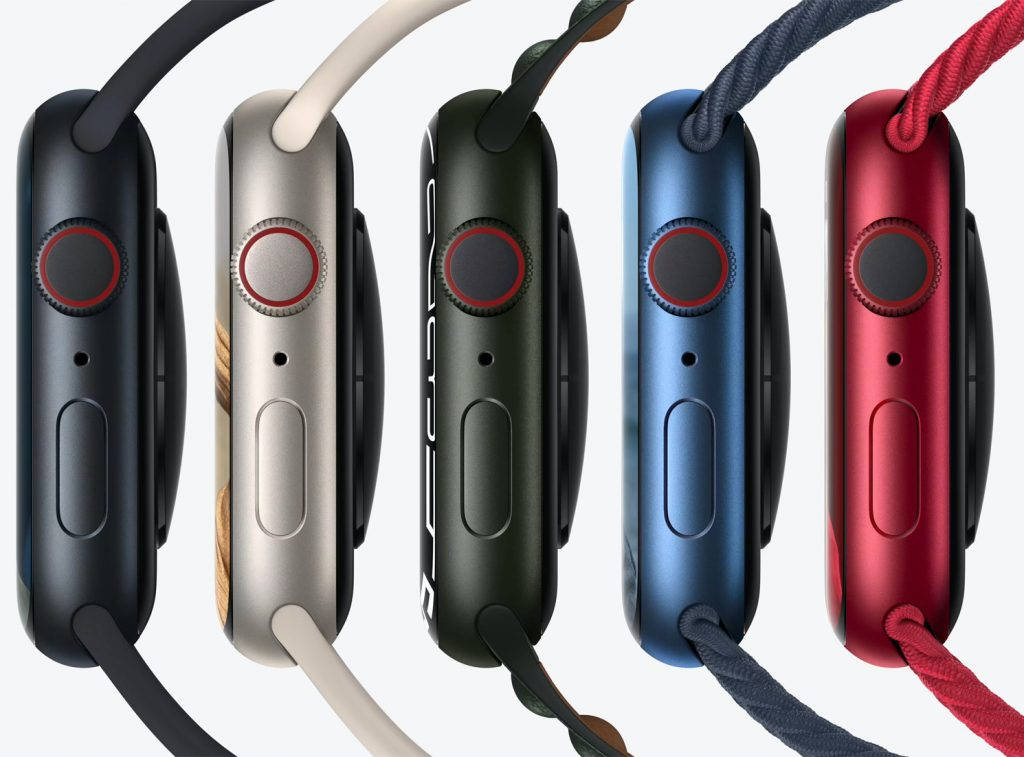 Apple Watch Series 7 color choices