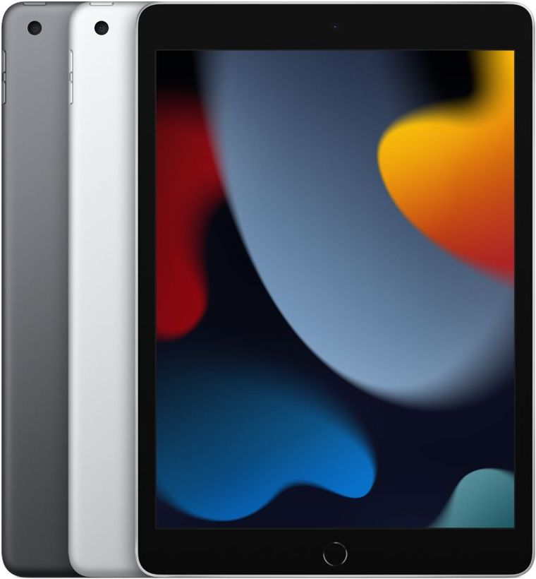 iPad 2021 in Silver and Space Gray