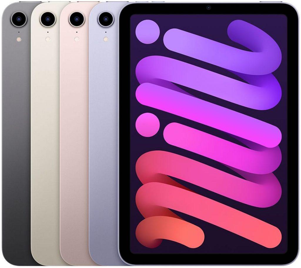 iPad mini 2021 color choices