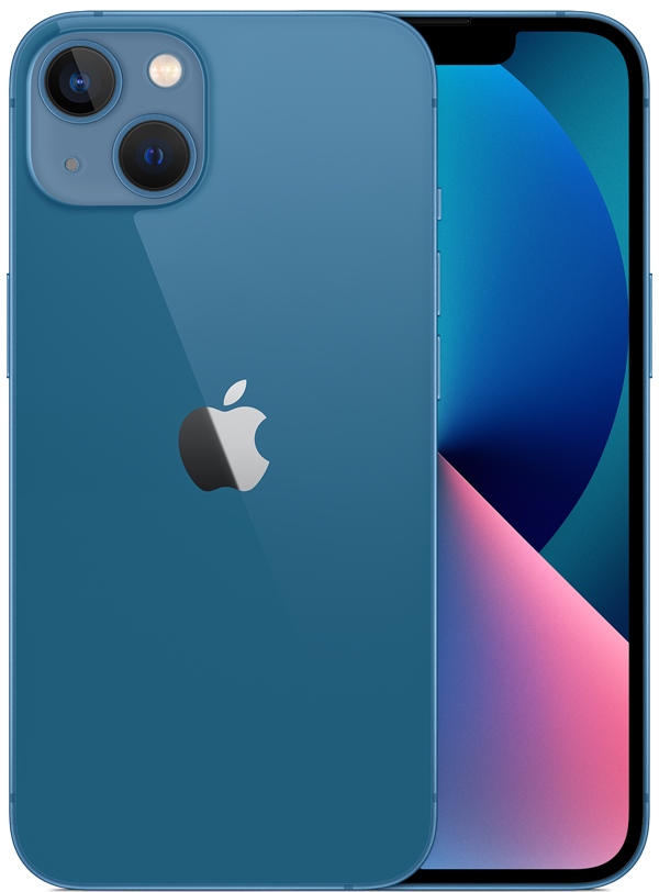iPhone 13 in Blue