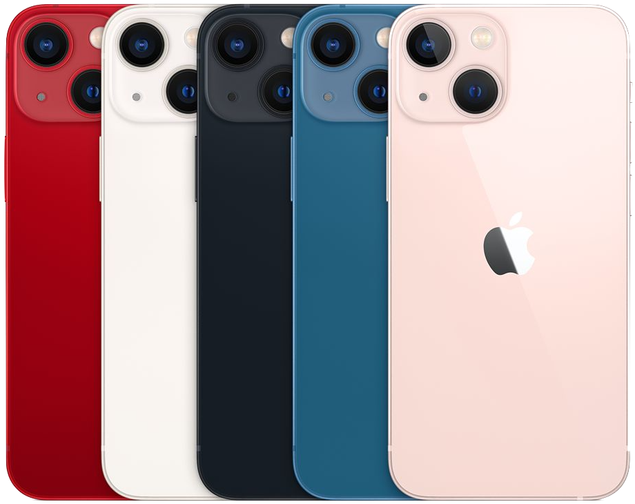 iPhone 13 models.