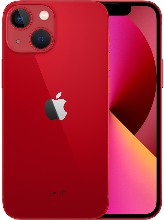 iPhone 13 mini in (PRODUCT)RED