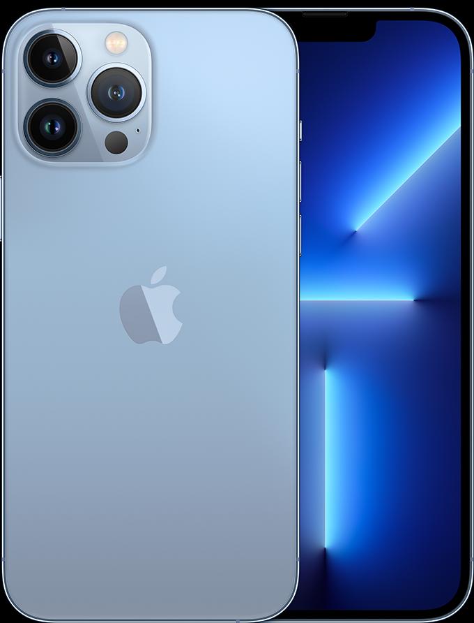 iPhone 13 Pro Max in Sierra Blue