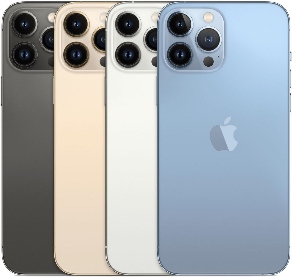 iPhone 13 Pro and iPhone 13 Pro Max color choices