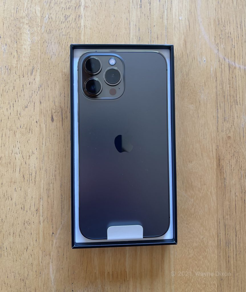 iPhone 13 Pro Max in Box