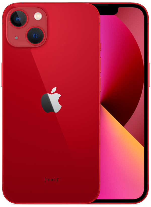 iPhone 13 in (PRODUCT)RED