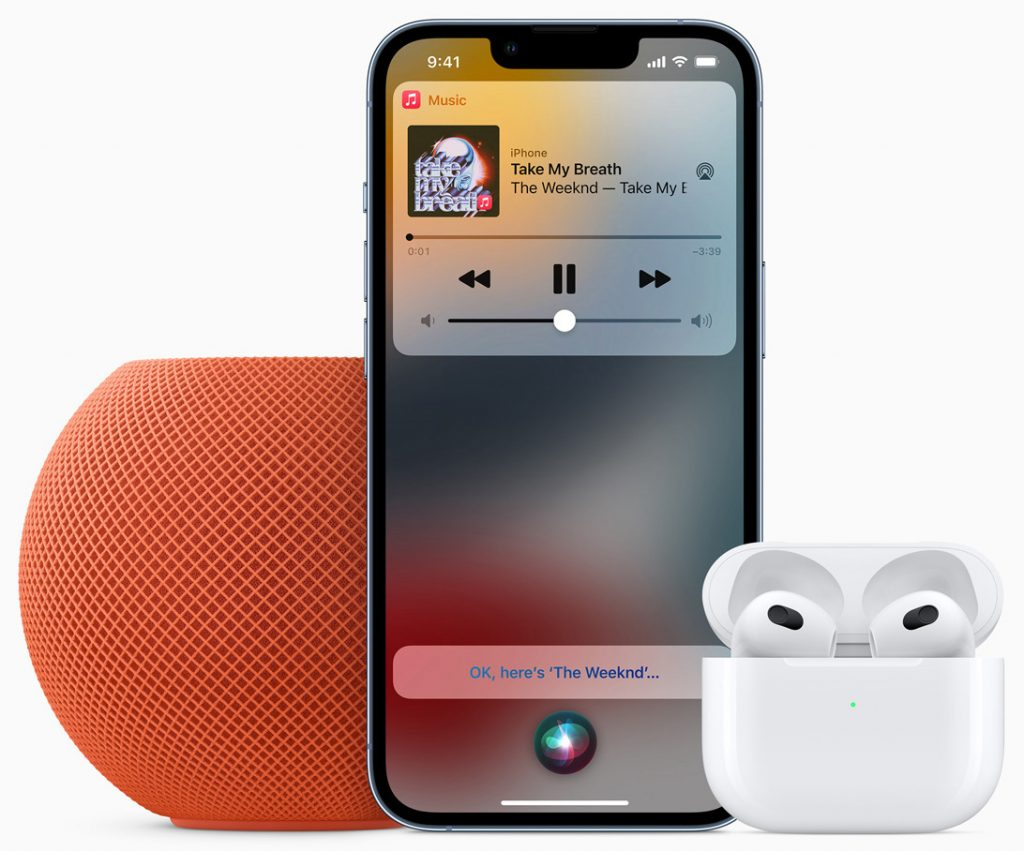 Apple Music Voice with AirPods, HomePod, and iPhone