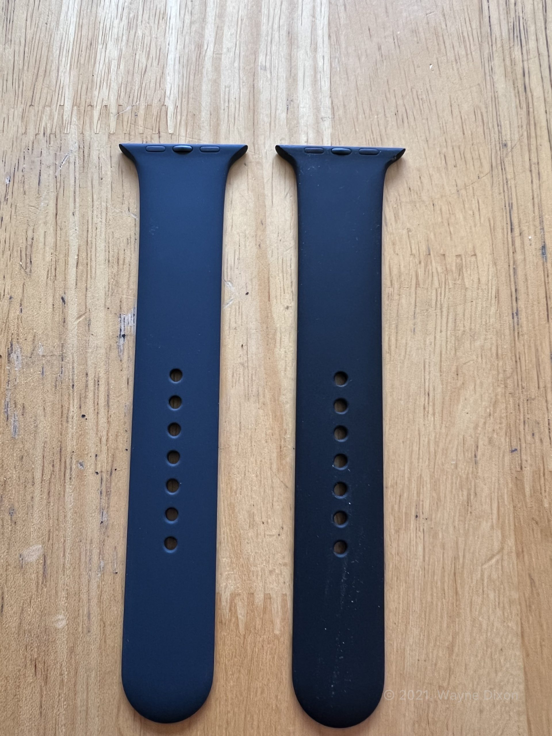 Midnight Sport Band and Black Sport Band