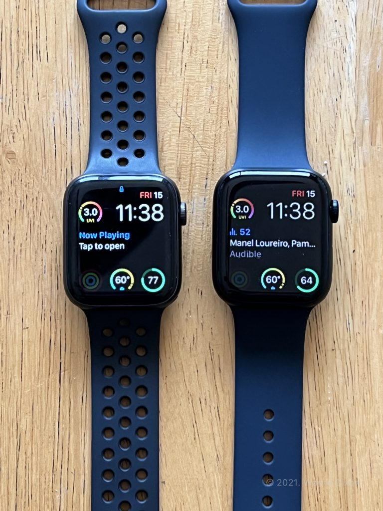 Apple Watch Series 6 and Apple Watch Series 7