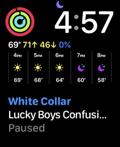 Apple Watch Modular Duo watch face