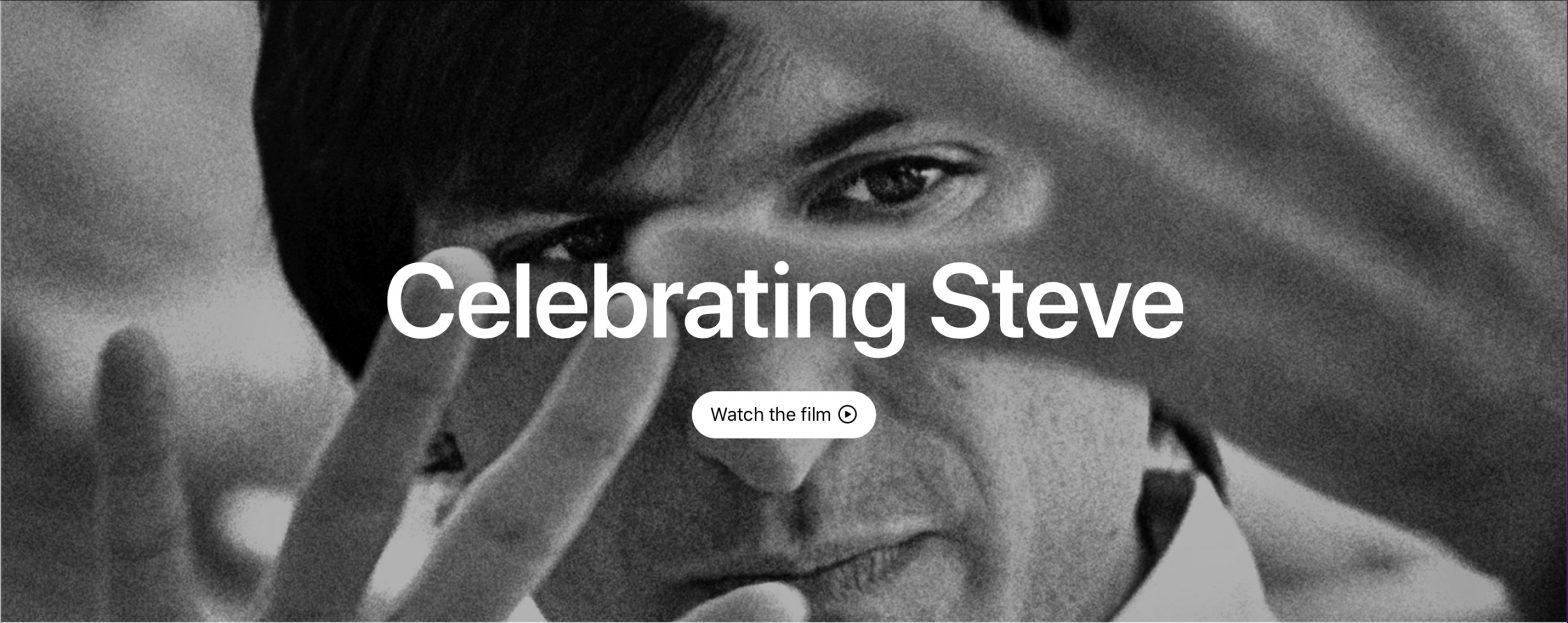 Celebrating Steve Jobs