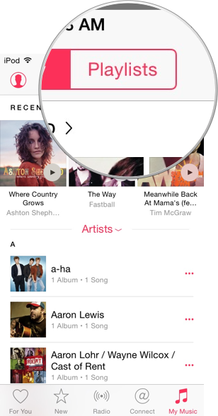 Apple.Music.Playlists