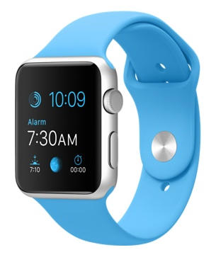 Apple.Watch.42MM.Silver.Blue.band
