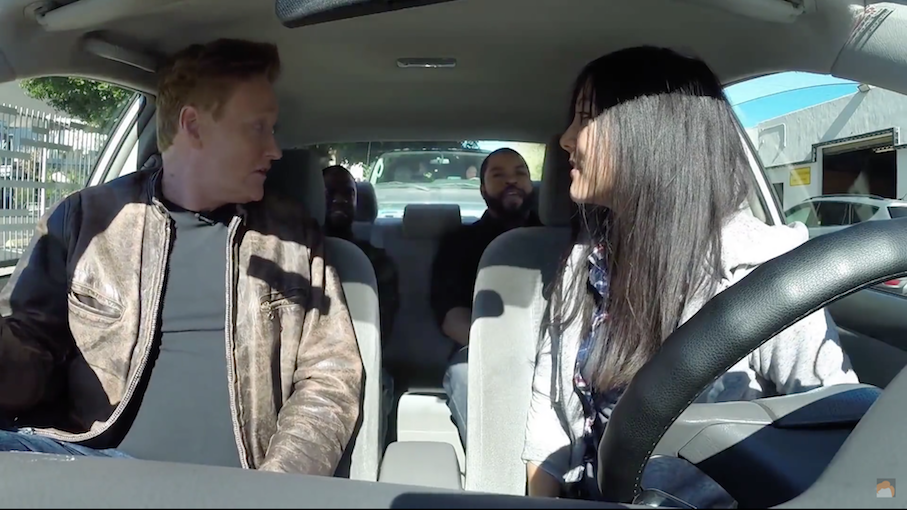 Conan provides some driving tips (Video)