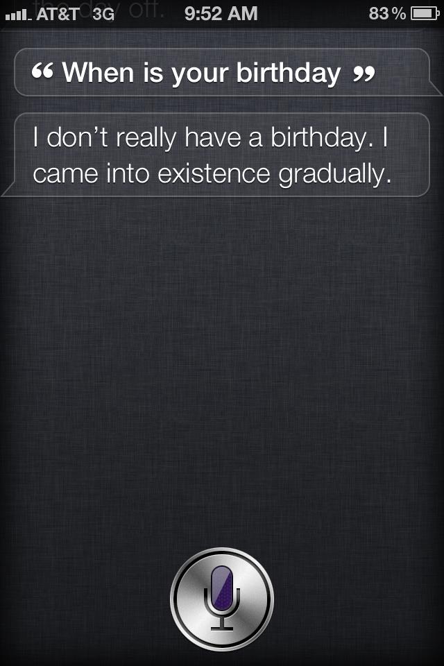 Siri's Mistake #9