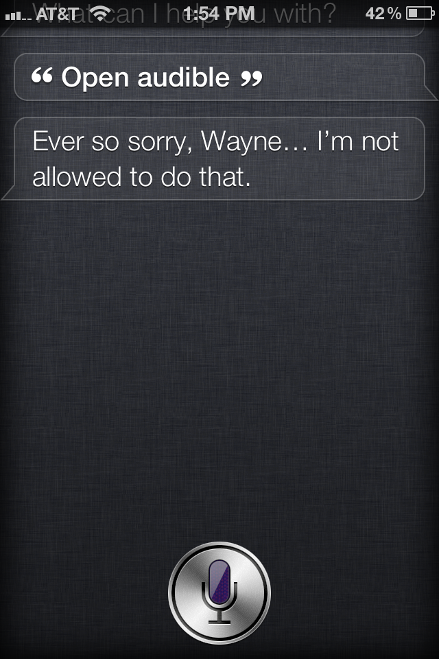 Siri Outtake #36